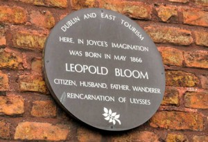 Leopold-Bloom plaque