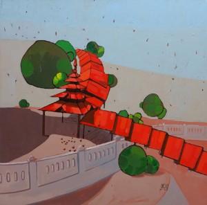 Aung Ko: Infinite Red, 2014