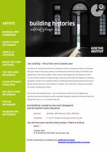 Invitation of Building Histories